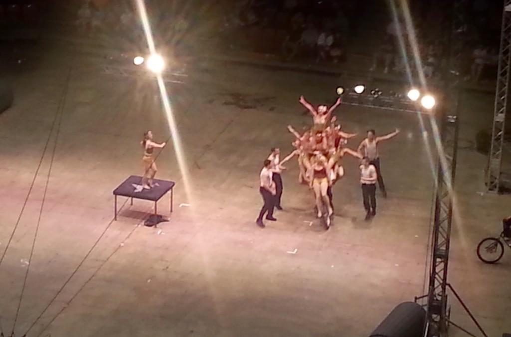 A circus act